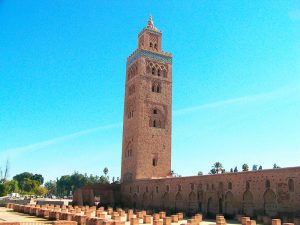Koutoubia minaret - By Grupo nhəḍṛu
