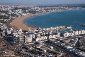 Agadir from the Kasba - By Salvador Aznar