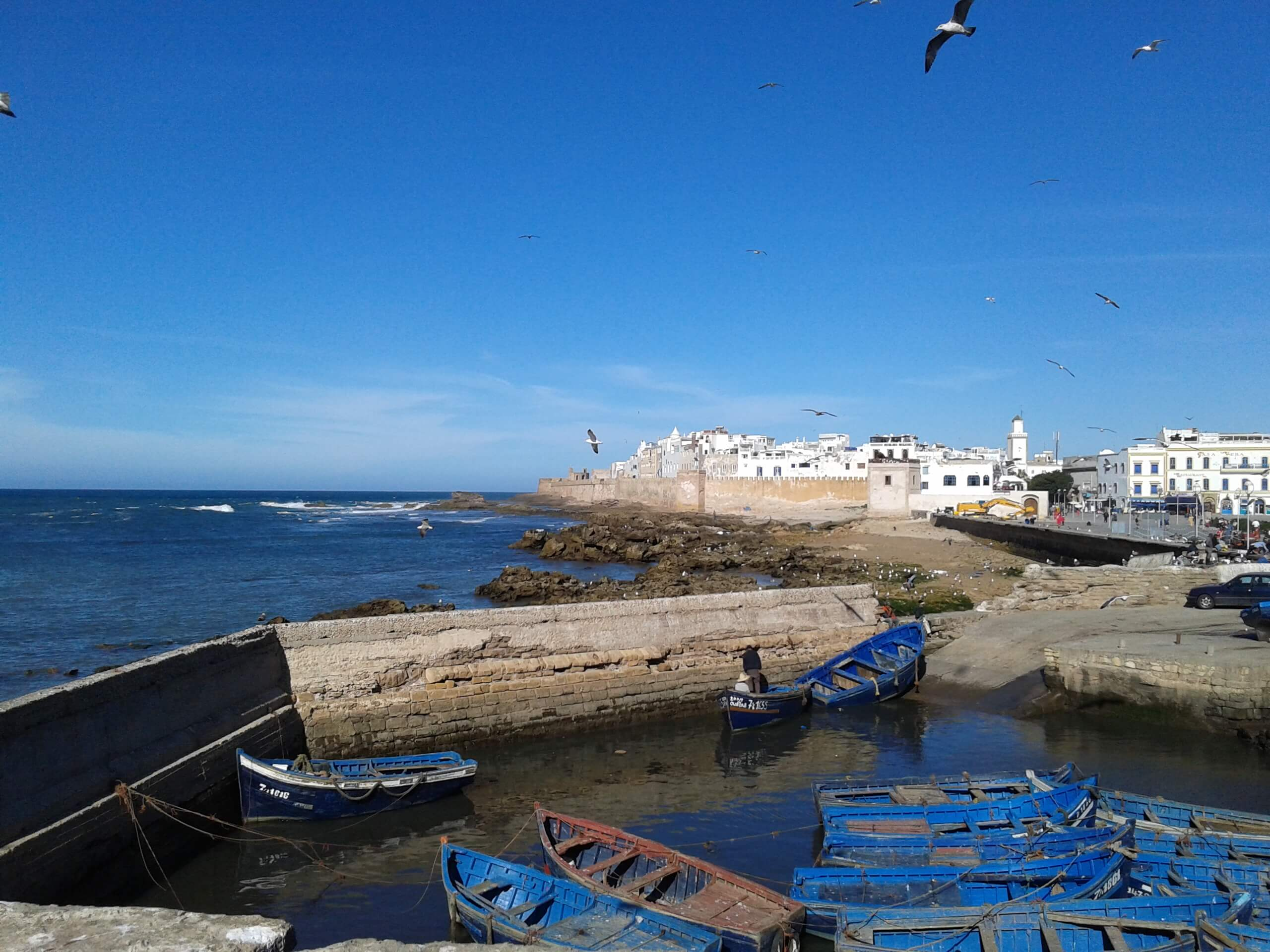 View of Essaouira from the Sqala in the port - By Felipe Benjamin Francisco