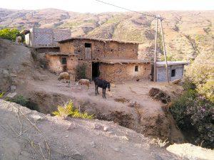 Bni Selmane, casa tradicional - Por Grupo nhəḍṛu