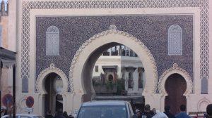 Puerta de Boujloud - Por Grupo nhəḍṛu
