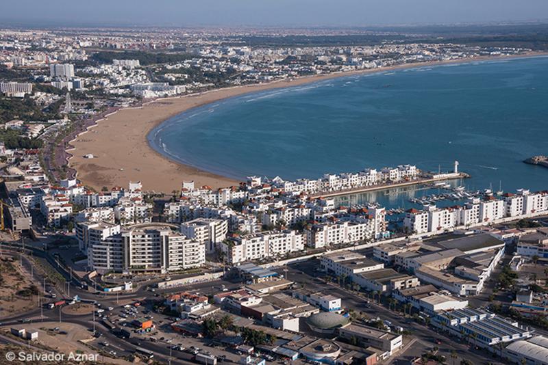 Agadir desde la Kasba - Por Salvador Aznar